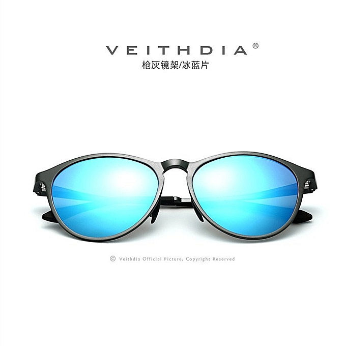 f5bb36fdb2c ... VEITHDIA Retro Aluminum Magnesium Sunglasses Polarized Lens Vintage  Eyewear Accessories Sun Glasses Men Women 6625