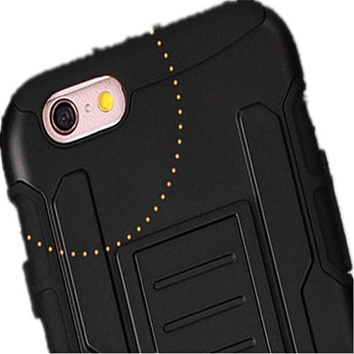 pretty nice 4eee3 f2263 Belt Clip Case Shockproof Stand Back Splint Cover Protect Case Black For  Samsung Galaxy S4mini I9190