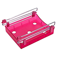 Kitchen Refrigerator Fresh-keeping Separator Layer Storage Rack