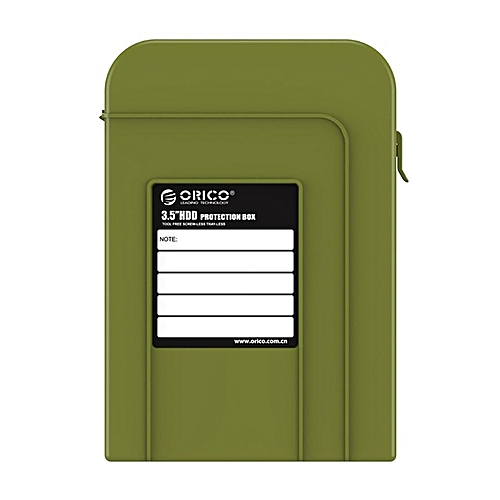 finest selection de543 7751a Orico Php35 3.5 Inch Hdd Bag Portable For Hard Driver External Storage Box  With Waterproof Function For Hard Disk Ssd Case(Green)
