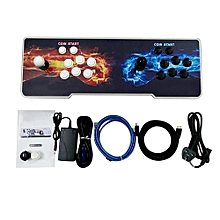 800 Games Arcade Game Console Kit Set Double Joystick Children Game Console-multi-color Mixed