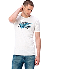 White Fashionable T-Shirt