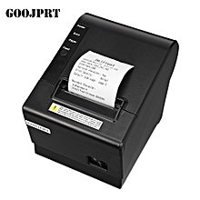 GOOJPRT JP58DC Portable USB Thermal Receipt Printer with Cutter for Android iOS - BLACK