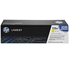 125A Yellow LaserJet Toner Cartridge - CB542A
