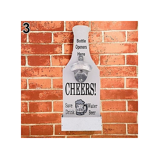 Buy Sanwood 40Pc Retro Creative Wall Mounted Beer Style Decorative Classy Decorative Wall Mount Bottle Opener