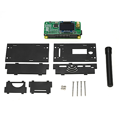 Mini MMDVM Hotspot Expansion Board Spot Radio Station Digital Voice Modem  with Case for P25 DMR YSF Raspberry Pi