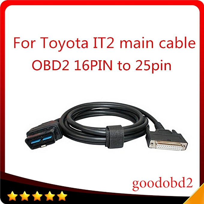 For car cable Toyota Intelligent Tester IT2 main test cable with Suzuki  Connector diagnostic car cable 16pin mian cable to 22p