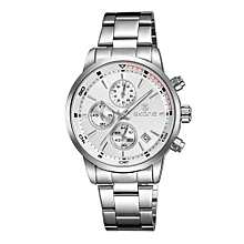 Watch Men Top Brand Fashion Luxury Waterproof Mens Business Quartz Watch Male Wristwatch 3 Dials Relojes Hombre
