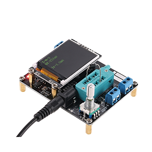 Multifunctional LCD GM328A Transistor Tester Diode Capacitance ESR Voltage  Frequency Meter PWM Square Wave Signal Generator SMT Soldering