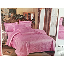 Silk Duvet Cover - Pink