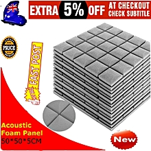5 Pcs Soundproof sponge Soft sponge No dust High density 500x500x50mm