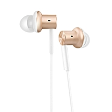 Xiaomi Hybrid Earphone In-Ear HiFi Earphones 2 Multi-unit Circle Iron Mixed Earphone For Xiaomi Mobile Phone MP3