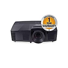 X118H Essential 3600-Lumen Svga DLP Projector-Black