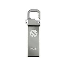 HP Flash Disk  16GB -Compact Metallic  - Silver