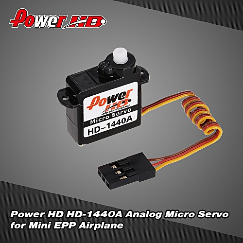 Power HD HD-1440A Analog Micro Servo for Mini EPP Airplane RC Aircraft