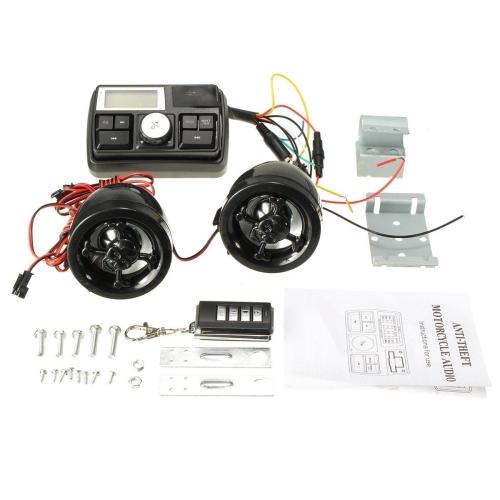 buy universal 281611389865 motorcycle radio mp3 speaker audio player rh jumia co ke