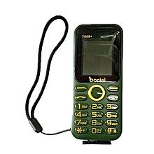 7000+ Dual Sim with FM Radio-Green