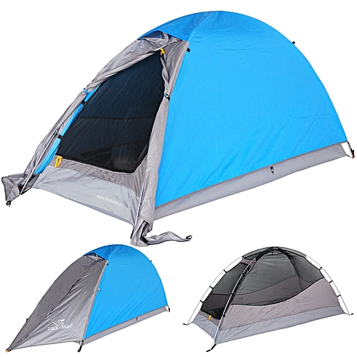 Buy Generic Trackman Tm120601 Camping Tent 1 2 Person Double Layers