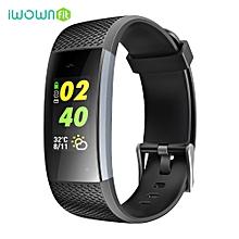 iWOWNfit I7A Smart Watch Multifunctional Wristband Sports Bracelet - BLACK