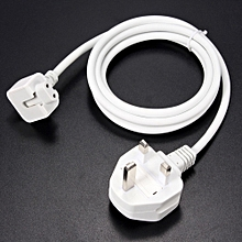 UK Plug 1.8M AC Power Adapter Supply Extension Cable Cord for Apple iPad Macbook Air Pro Charger Adapters Power Cords