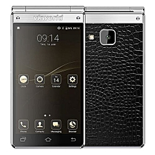 T2 PLUS 3GB RAM 32GB ROM MTK6737 1.25GHz Quad Core 4.2 Inch WXGA IPS Dual Screen Android 7.0 4G LTE Flip Smartphone