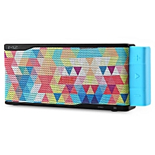 DT M2 Colorful Mesh Surface Stereo HiFi Bluetooth Speaker With Microphone-BLACK