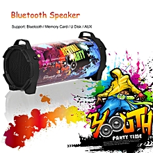 Wireless Bluetooth Speaker Portable With Strap Built In USB