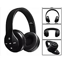Wireless Bluetooth 4.2 Stereo Headphone Headset Earphone For Mobile Phones P35 - Black