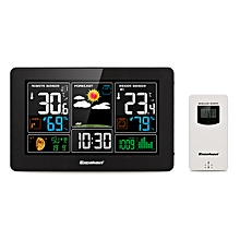 PT3388 Weather Station Digital Wireless - EU Plug - Black