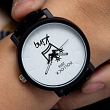 Hequeen Hot Sale King Queen Watches Women Lovers Watch Men  Female Male Quartz Wristwatch