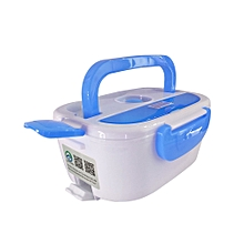 220V Portable Electric Heating Lunch Box Food-Grade Food Container Food Warmer For Kids 4 Buckles