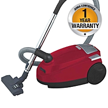 RM/224-Vacuum Cleaner 1600W- Red & Black