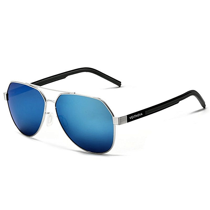 2aa81266480 VEITHDIA Fashion Sunglasses Polarized Men Blue Color Coating Mirror Driving  Sun Glasses Eyewear Accessories 3556 (