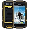 4.0 inch  V8 Android 4.4 3G Smartphone Dual Core WiFi GPS Waterproof Dustproof Shockproof 4GB ROM-YELLOW