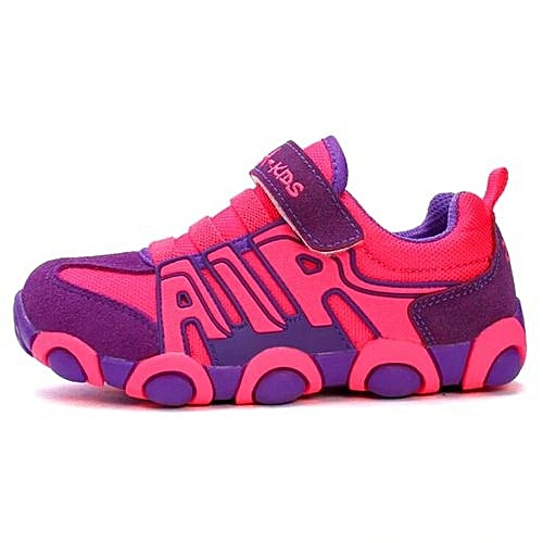 bafeebba785b4 Zqra Pink   Purple Unisex Casual Sneakers For Kids   Best Price ...