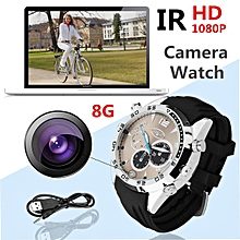FHD 1080P IR Waterproof Camera Watch Night Vision Hidden Cam Video Recorder