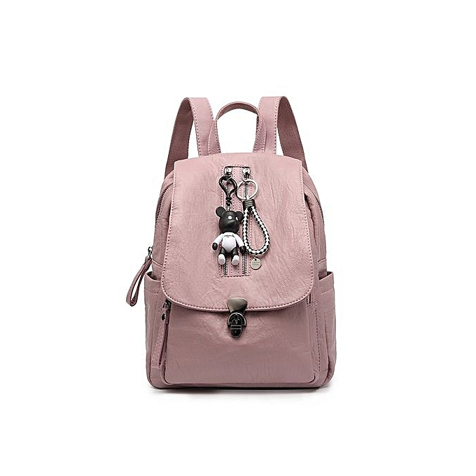 d1b2be5d0 Refined Multi-function Backpack For Women Travel Bags School College Bag  Casual-pink