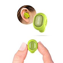 Wireless Headphone, Q29 Mini Dual V4.1 Wireless Earbuds Bluetooth Headsets With Charging Case(Green)