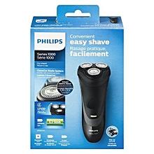 Series 1000 Dry Shaver - Easy Convenient Shave - Rechargable