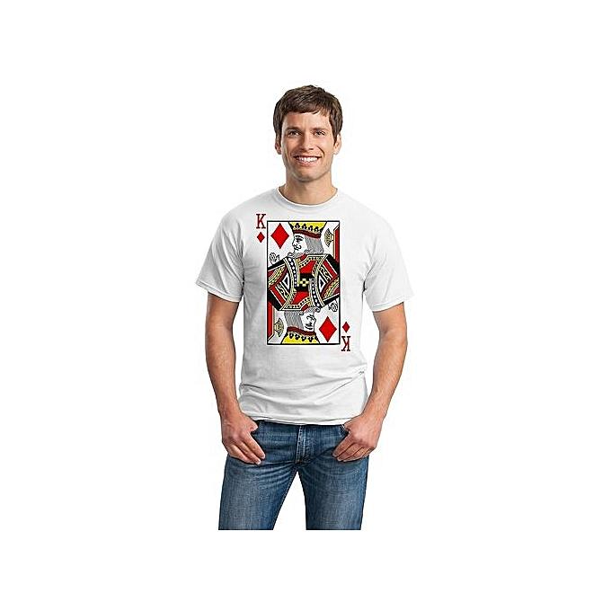 afac2d7a Fashion KING OF DIAMONDS T-shirt / Card Costume Tee, Magic Trick ...
