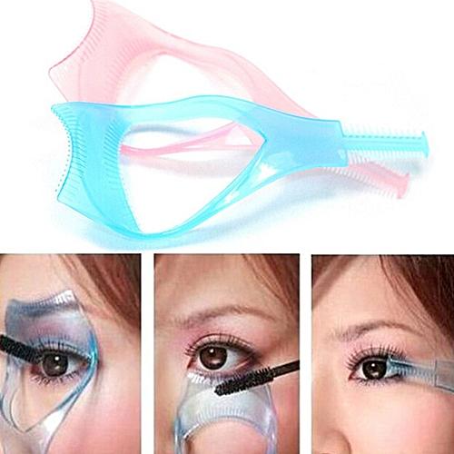 dabd54bb76f Generic Dropshipping Hot Sale 3 in 1 Mascara Shield Guard High Quality  Eyelash Comb Applicator Guide Card Makeup Tool(Random)