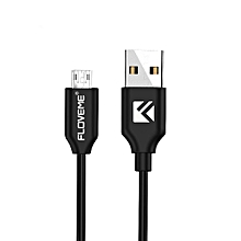 FLOVEME 1m3.3ft Double Sided Plug Design MICRO USB Charging Date Cable For Samsung Galaxy S6 S7 S7edge edge Pl