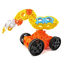 Flytec Educational Building Blocks Toys Children Gift Navvy Magic Buckle 102pcs-