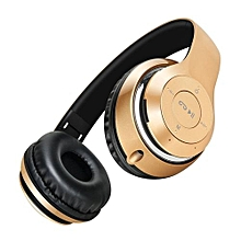 Sound Intone BT-09 Bluetooth Over-The-Ear Headphones (Gold)