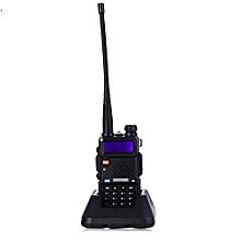 BAOFENG UV-5R UHF / VHF Walkie Talkie 128-Channel with Flashlight-BLACK