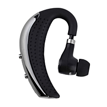 Wireless Bluetooth Headset V4.0 Stereo Voice Prompt Earphone for BH6923 Black