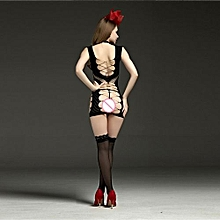 Sexy Womens Mesh Lingerie Babydoll Dress Underwear Sleepwear Dress