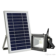Solar LED Flood Light - Black