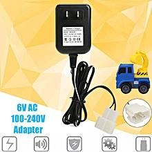 6V AC Charger Adaptor Power Supply US Plug for Avigo Kid Toy Car 6V Battery