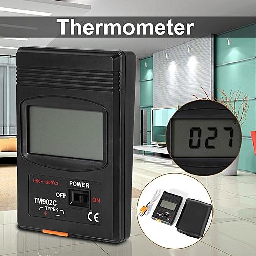 LCD Type K Digital Thermometer Sensor Temperature Meter Thermocouple Wire BI456 (#) MQSHOP